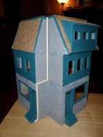 Les Shoppes Dollhouse Project DONE: Front by kayanah