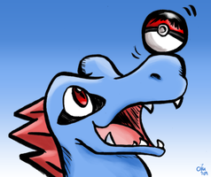 Balancing Brush Totodile by raizy