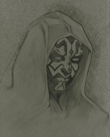 Star Wars: Darth Maul Sketch by Vitanifan55