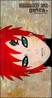 Sabaku no Gaara by cmonletsgethigh