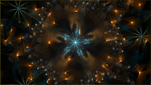 Fractal Wallpaper LXII: Starflight by ScraNo