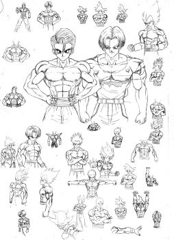 Sketch dbz 02 by DBZwarrior