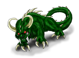Hodag by Scatha-the-Worm