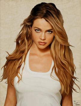 Denise Richards by frostdusk