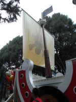 Thousand Sunny Back Side View by lu40953