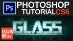 Photoshop Tutorial Video Glass Text by ShindaTravis