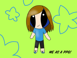 Me in PPG style by alpha-centaurius