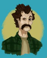 My Name is Earl Caricature Portrait by wh1zper