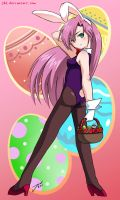 Here Comes the 'Easter' Bunny by J8d