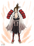 Shaman King Fusion - Amidamaru by Shiranukii