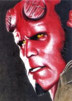 Hellboy by Dr-Horrible