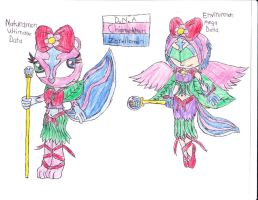 htf digimon dna gigglespetunia by anolelightdragon