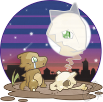 The Tale of Cubone by SteveKdA