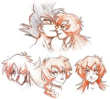 Saiyan Kiss by agra19