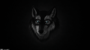 Wallpaper - Wolf by Z4RIEL