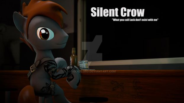 Silent Crow by SocksLord