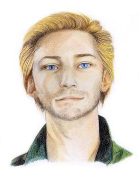 Troy Baker ~ portrait by Onestorm
