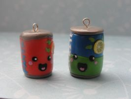 Kawaii Clay Soda Cans by CraftyOlivia