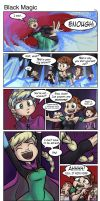 Frozen-BlackMagic by tran4of3