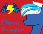 Storm Dragon Wallpaper by StormDragon98