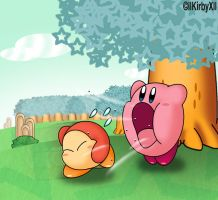 Kirby Inhaling by llKirbyXll