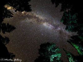 Milky Way from East Lake by MartinGollery