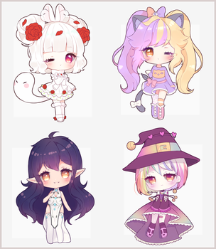 simple chibi commission BATCH 3 by Antay6009