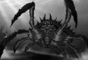 Giant spider crab by TheDjib