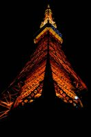 Tokyo Tower by n-a-k-s