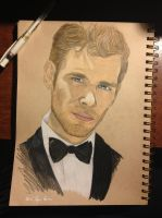 Joseph Morgan by TempestAdora