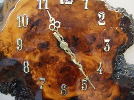 Fancy Clock by Crystal-Comb