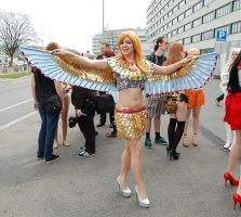 Katy Perry Dark Horse Cosplay by SatinaRoses