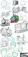 Upon the island of Sodor 8 by RKPiratedrawer
