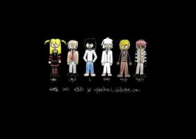 Death Note Chibis by Mysterious-L