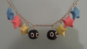Susuwatari Necklace by Snow-of-Wonderland