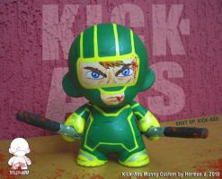 KICK-ASS Munny Custom by Power-Venom