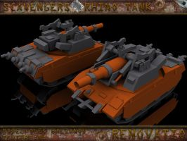 Scavengers Rhino tank Final by FF-Design