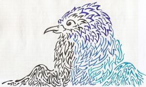 Blue Wing by Sulfura