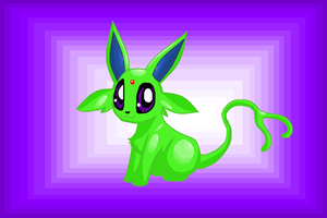 Shiny Espeon by MochiFries