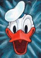 Donald Duck Painting by Tbopi
