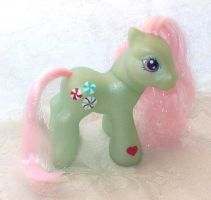 G3 Baby Minty My Little Pony by mayanbutterfly