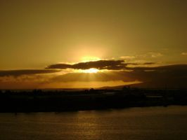 Hawaiian sunset by csclements