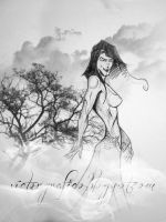 into the wood boceto/sketch by victorgrafico