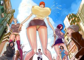 Lactating Giantesses Galore by giantess-fan-comics