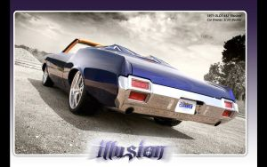 1971 OLDSMOBILE 442 ILLUSION by reehoff-design