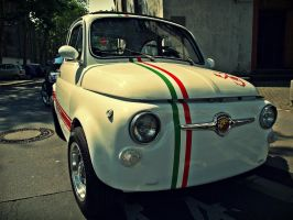 Fiat Abarth 500 by Csipesz