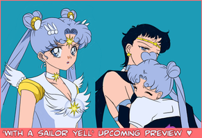 With a Sailor Yell - Upcoming Comic Preview by Nightfable