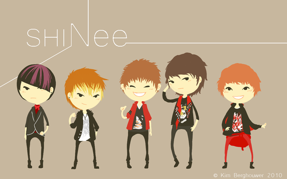 SHINee by Nisharda