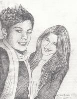 Eleanor Calder + Louis Tomlinson by iTZzRachelXD