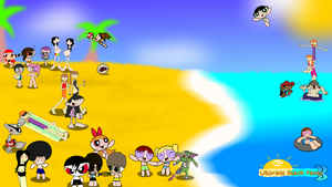 Ultimate Beach Party III by smithandcompanytoons
